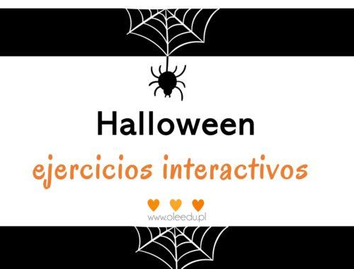 ejercicios interactivos de Halloween
